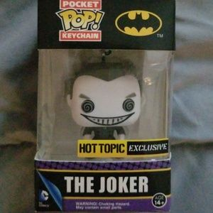 The joker pop figure